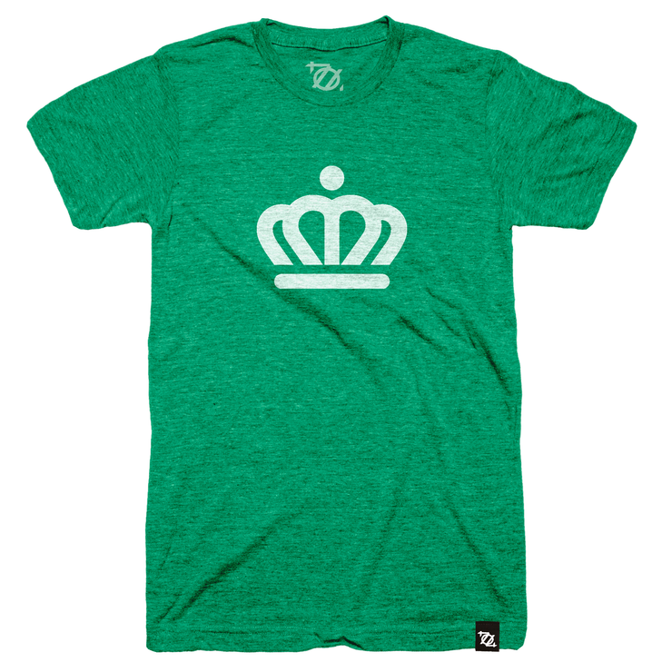 704 Shop x City of Charlotte - Official Crown Tee Green/White (Unisex) - Delivery 4