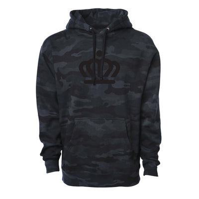 704 Shop Black Camo Official Crown Hoodie (Unisex) (Black Friday Limited Edition)