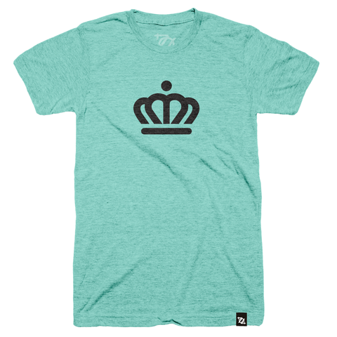 704 Shop x City of Charlotte - Official Crown Tee Mint/Black (Unisex) - Delivery 3