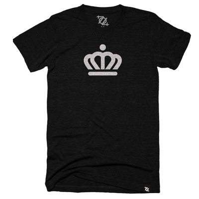 704 Shop x City of Charlotte - Official Crown Tee Black/White (Unisex) - Delivery 1