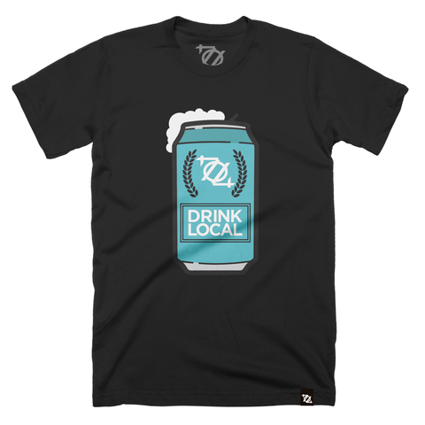 704 Shop Drink Local Beer - Black (unisex)