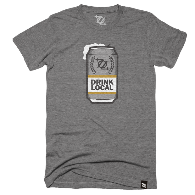 704 Shop Drink Local Beer - Gray (unisex)