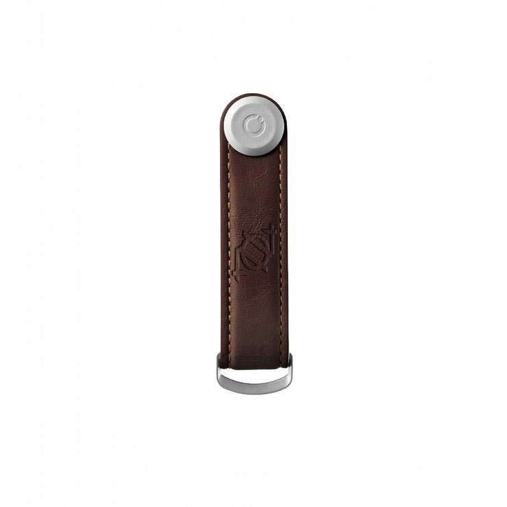 704 Shop x Orbitkey Leather Key Organizer - Espresso/Brown