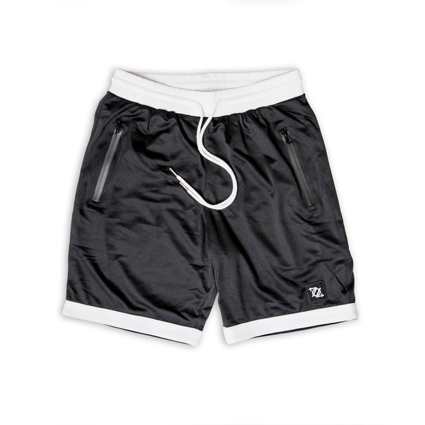 704 Shop Essential Gym Shorts - Black/White