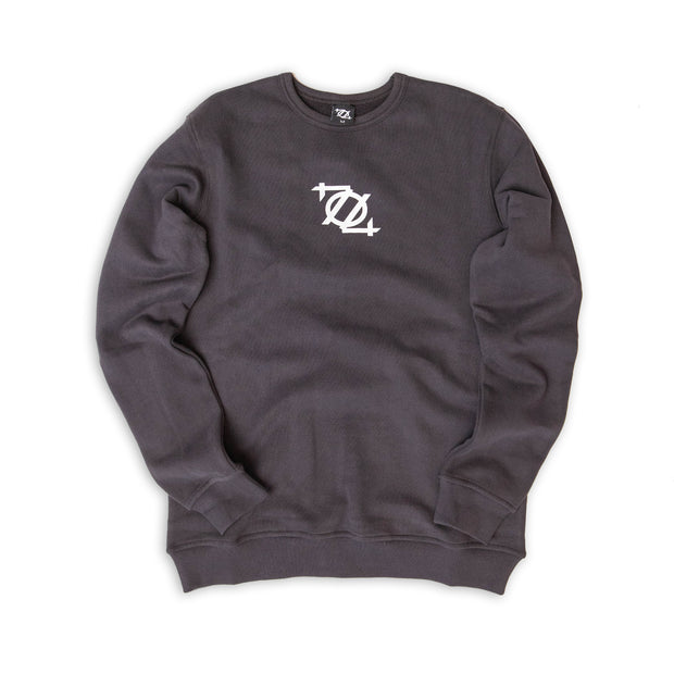 704 Shop Essential Terry Crewneck Sweatshirt - Dark Gray