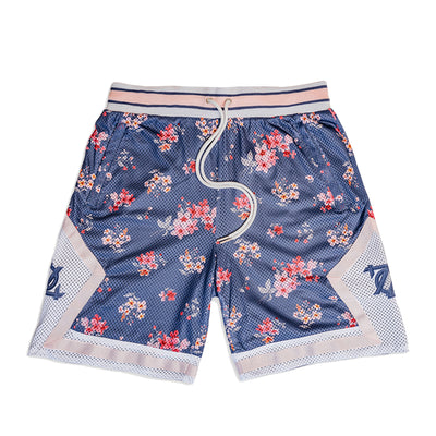 704 Shop Process™ Floral Game Short - Spellbound/Multi