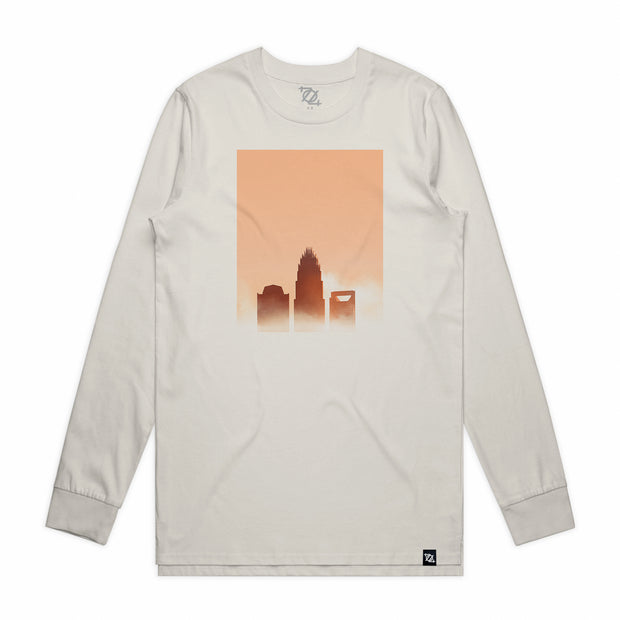 704 Shop Golden Hour Longsleeve Tee - Natural/Multi (Unisex)
