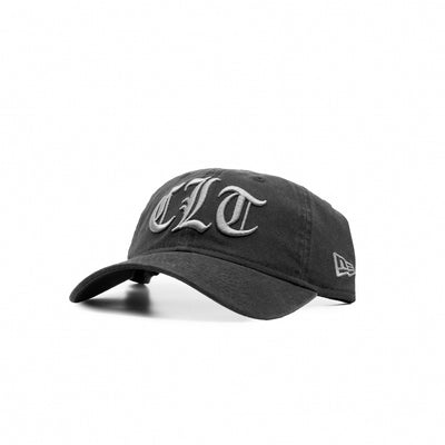 704 Shop x New Era CLT Gothic 920 Unstructured Hat - Black/Gray (Unisex)