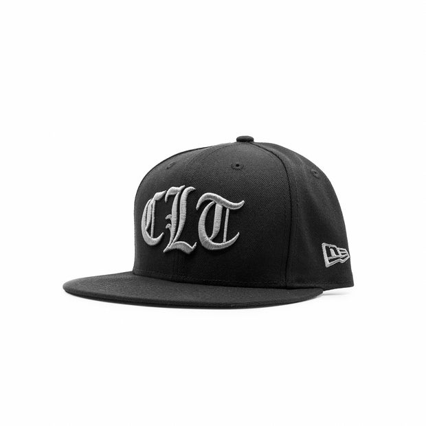 704 Shop x New Era CLT Gothic 950 Original Fit Hat - Black/Gray (Unisex)