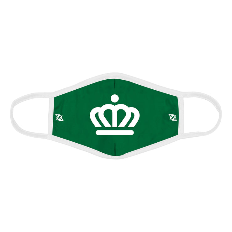 704 Shop x City of Charlotte Official Crown Mask - Green/White