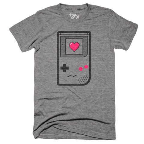 ** LIMITED EDITION - 704 Shop x Heart Meter - Gamer Love Tee (Unisex) **
