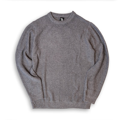 704 Shop Essential Mixed Yarn Sweater - Gray