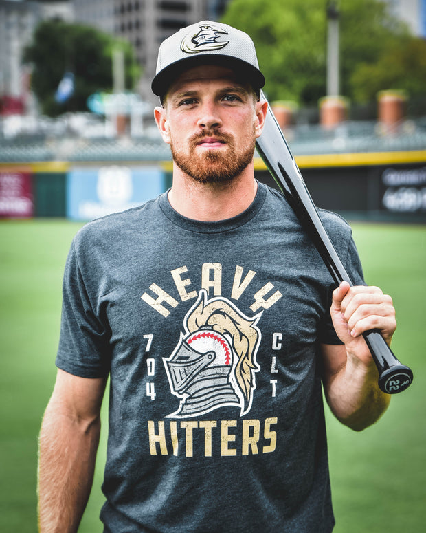 704 Shop x Charlotte Knights - Heavy Hitters Tee (Unisex)