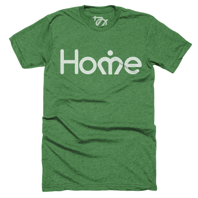 704 Shop Charlotte Home Tee - Heather Green (Unisex)