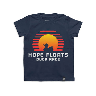 704 Shop x Kindermourn Hope Floats Duck Race Tee (Toddlers)