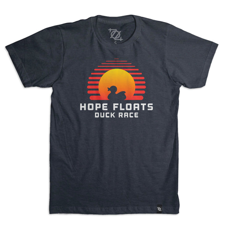 704 Shop x Kindermourn - Hope Floats Duck Race Tee (Unisex)