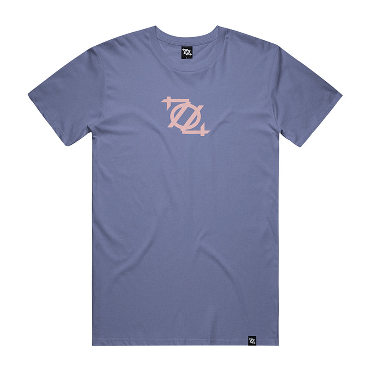 704 Shop Process™ Logo Tee - ∞ Infinity Blue ∞/Lotus (Unisex)