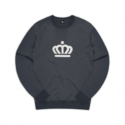 704 Shop Process™ Pigment Dyed Official Crown Crew Sweatshirt - Inkwell (Unisex)