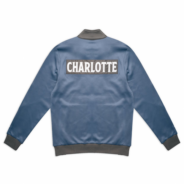 704 Shop Process™ Charlotte Track Jacket - Bluefin/Gray