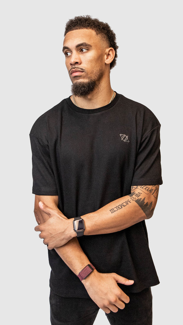 704 Shop Essential Logo Tee - Black