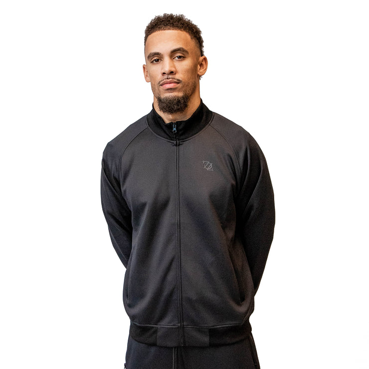 704 Shop Essential Track Jacket - Black
