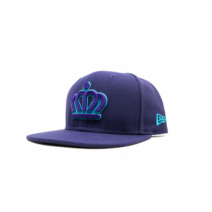 704 Shop x City of Charlotte x New Era - Official Crown Keyline 950 Hat (Purple/Teal)