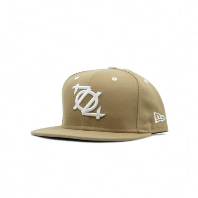 704 Shop x New Era 704 Logo 950 Original Fit Hat - Khaki/White (Unisex)
