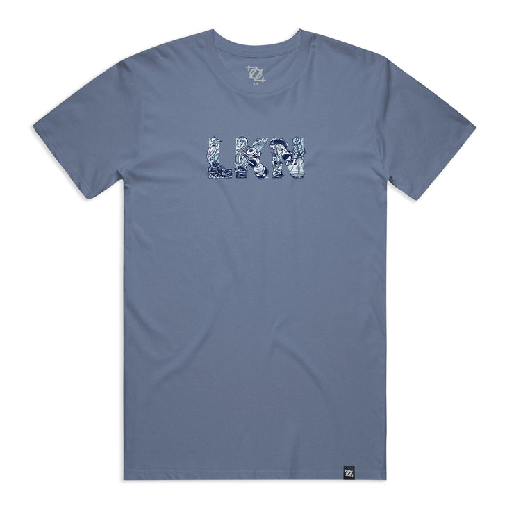 704 Shop LKN Tee - Faded Navy (Unisex)