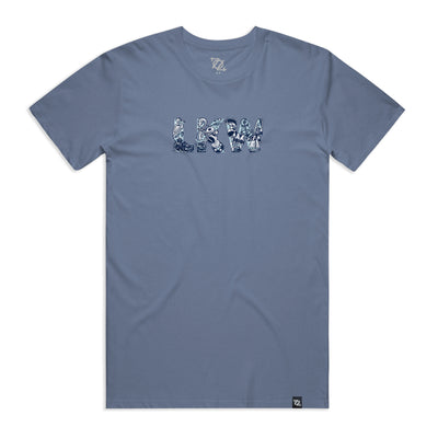 704 Shop LKW Tee - Faded Navy (Unisex)