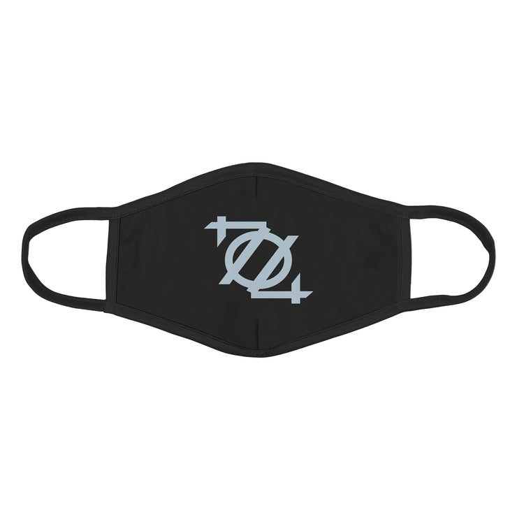 704 Shop 704 Logo Face Mask - Black/Gray Dawn