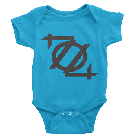704 Shop Logo Onesie - Blue/Black
