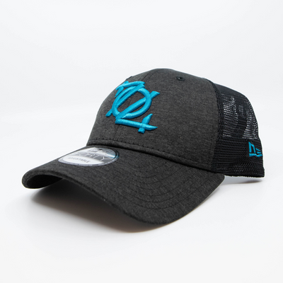 704 Shop x New Era - 704 Logo 940 Trucker Cap - Shadowtech/Panther Blue
