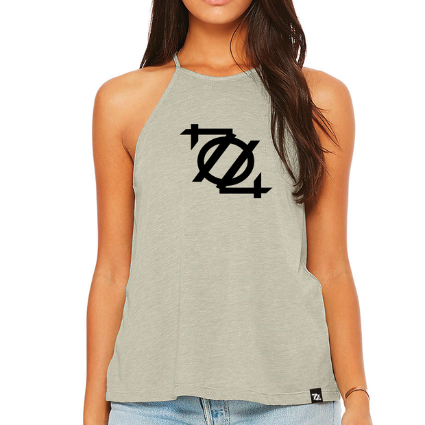 704 Shop Logo Hi-Neck Tank Top (Women's)