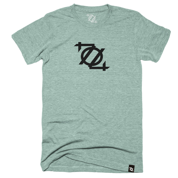 704 Shop Logo Tee - Dusty Blue (Unisex)
