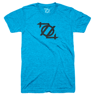 **704 Shop Logo Tee - Teal/Black (Unisex)