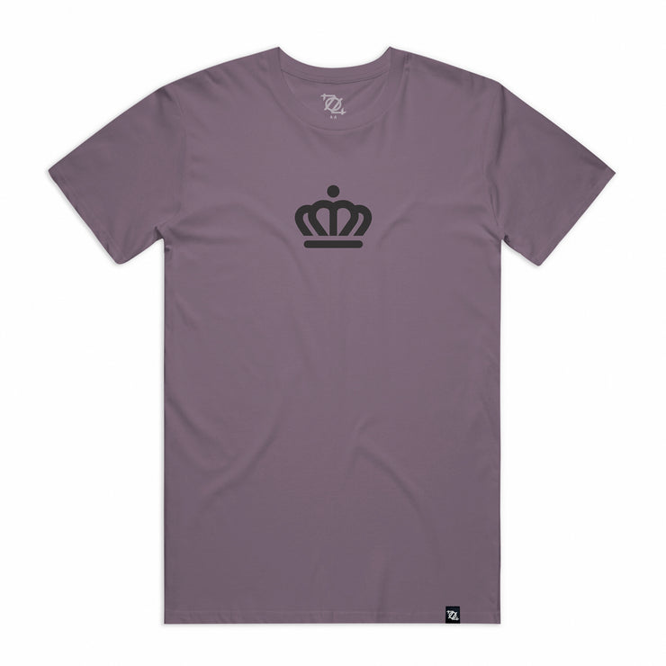 704 Shop x City of Charlotte Official Crown Tee -  Mauve/Black (Unisex)
