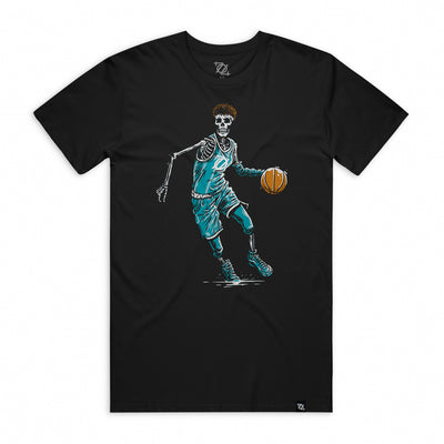 704 Shop Basketball for Life Tee - Black (Unisex)