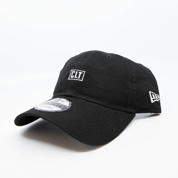 704 Shop x New Era - Micro CLT Box 920 Dad Cap - Black/White
