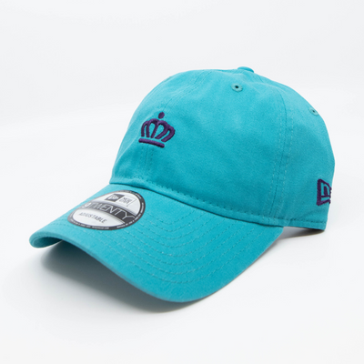 704 Shop x City of Charlotte - Micro Official Crown 920 Dad Cap - Teal/Purple
