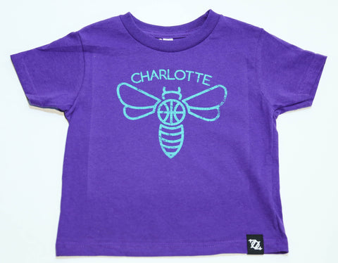 704 Shop Minimal Hornet - Purple (Toddler's)