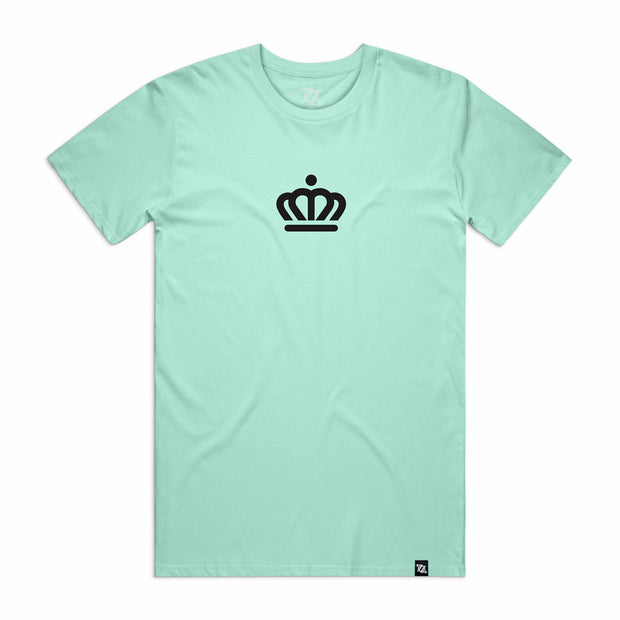 704 Shop x City of Charlotte Official Crown Tee -  Mint/Black (Unisex)