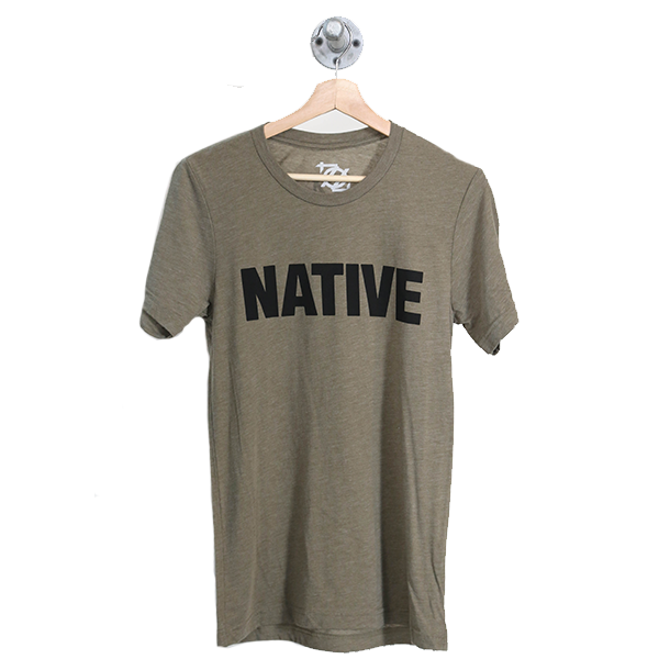 704 Shop Native Tee - Olive (Unisex)