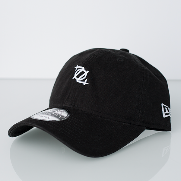 704 Shop x New Era 920 Micro Logo Dad Hat - Black