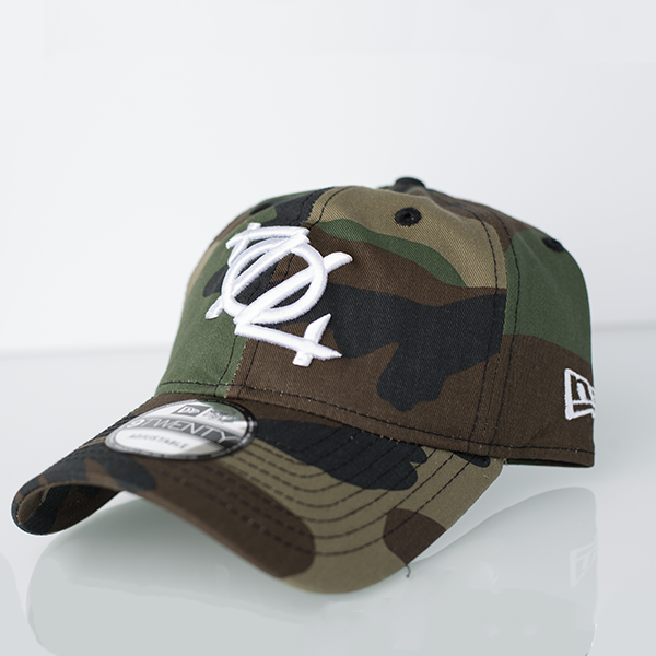 704 Shop x New Era 920 Dad Hat - Woodland Camo