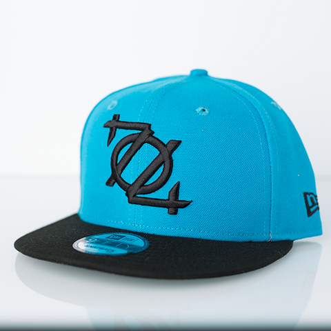 704 Shop x New Era 950 Snapback - Blue/Black Bill