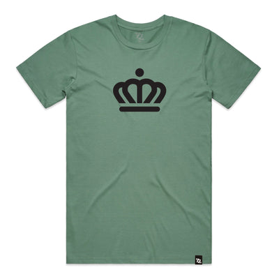 704 Shop x City of Charlotte - Official Crown Tee - Sage (Unisex)