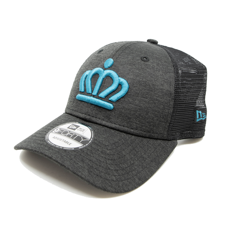704 Shop x New Era - Official Crown 940 Trucker Cap - Shadowtech/Panther Blue