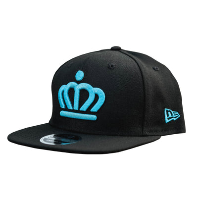 704 Shop x City of Charlotte Official Crown 950 Snapback Hat - Black/Blue