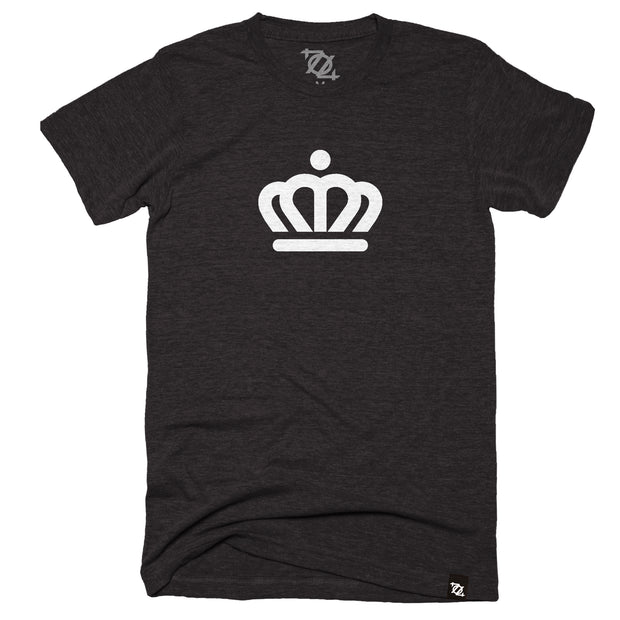 704 Shop x City of Charlotte Official Crown Tee - Black/White (Unisex)