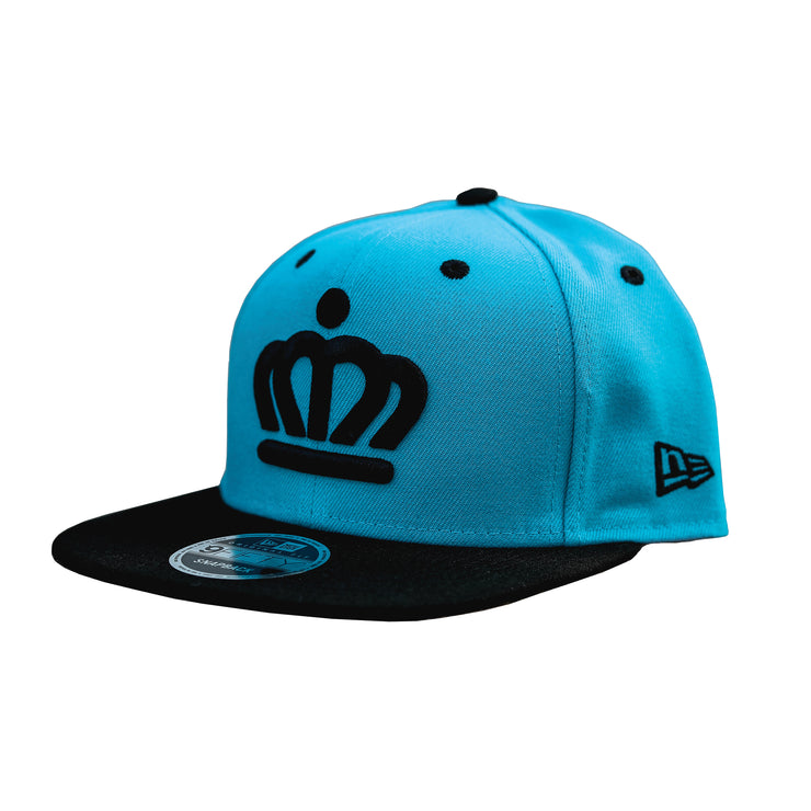 704 Shop x City of Charlotte Official Crown 950 Snapback Hat - Blue/Black Bill